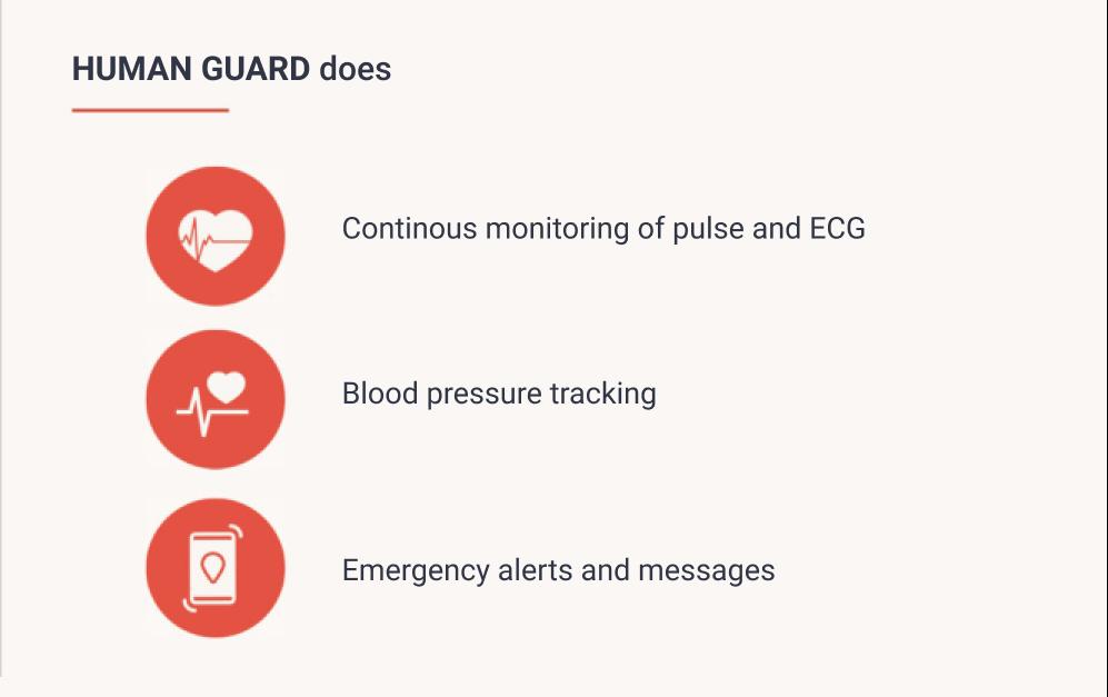 Passive health monitoring system