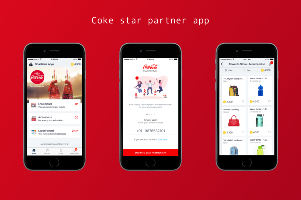 Coca Cola Star Partner App